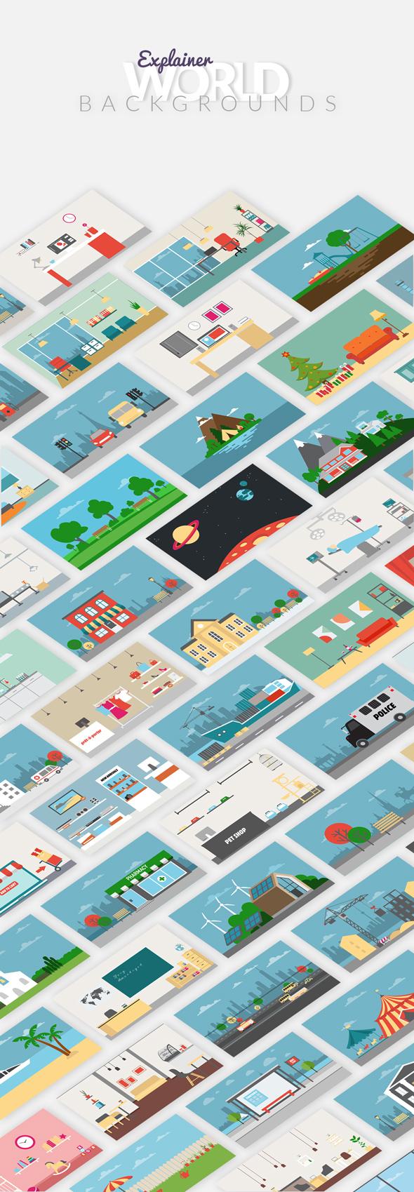 Explainer World Essential Graphics | Mogrt - 15
