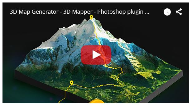 3D Map Generator - 3D Mapper - Photoshop Plug-in - 14