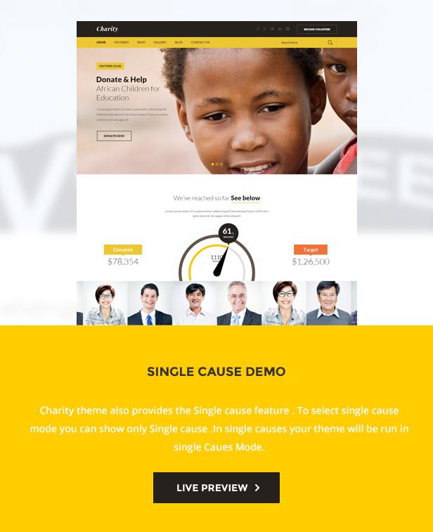 Charity: Nonprofit/NGO/Fundraising WordPress Theme - 4