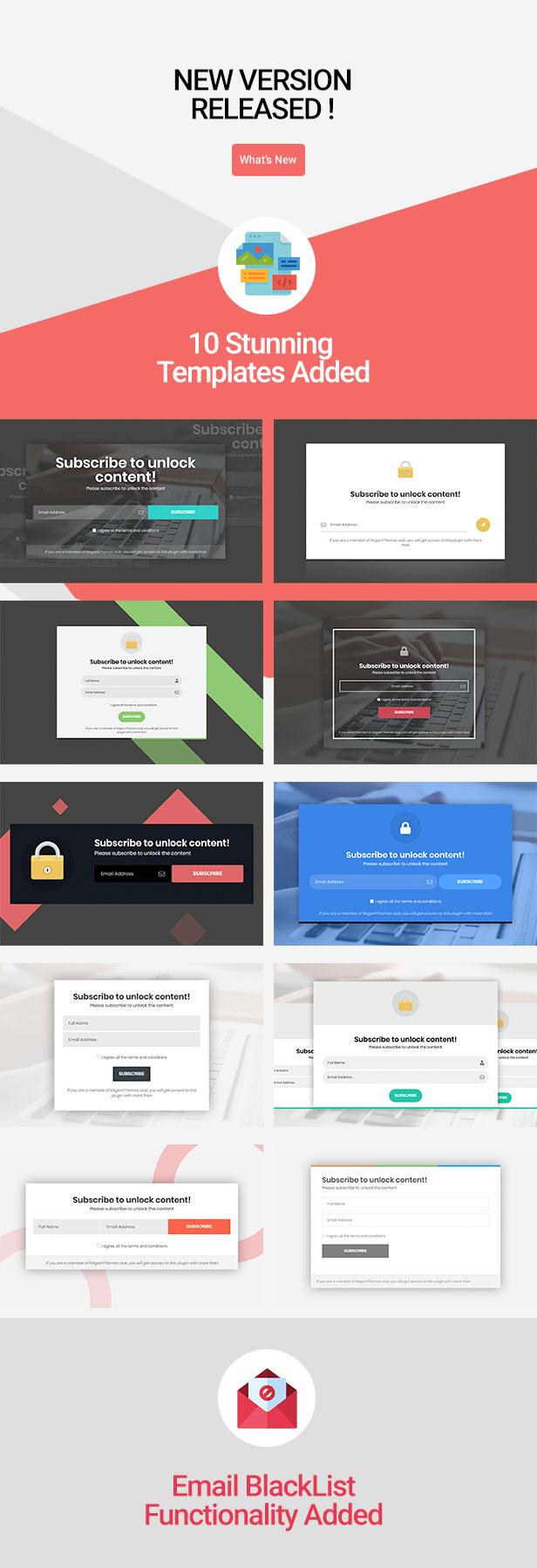 Abonnieren Sie das Unlock Opt In Content Locker WordPress-Plugin - 1