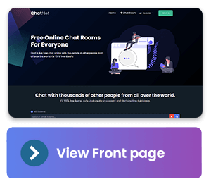 ChatNet - PHP Chat Room & Private Chat Script - 3
