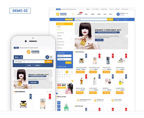 VG Pomer - Perfume Store WooCommerce WordPress Theme - 4