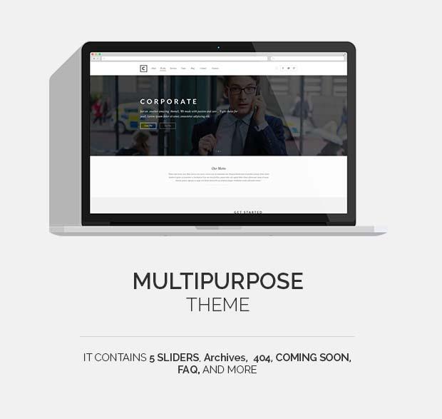 Choco | Multipurpose WP - 4