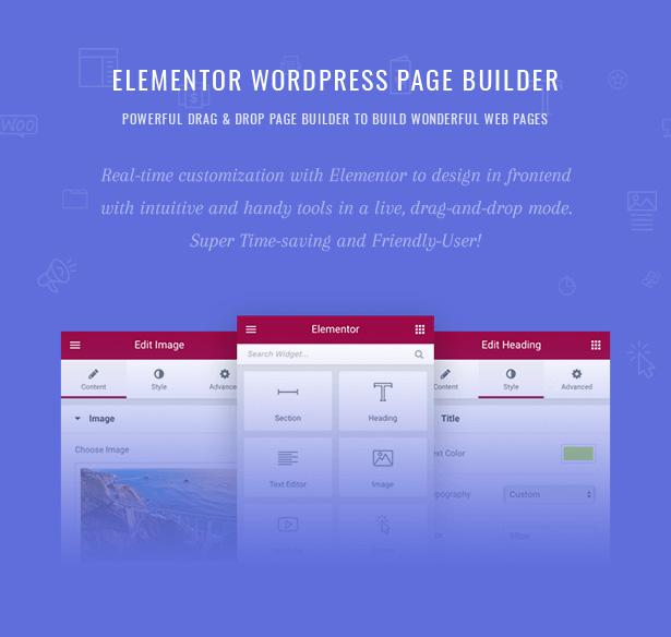 Pecil Elementor WordPress Page Builder