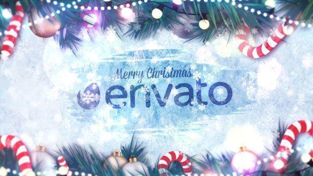 Winter Holidays Logo Reveal - 4