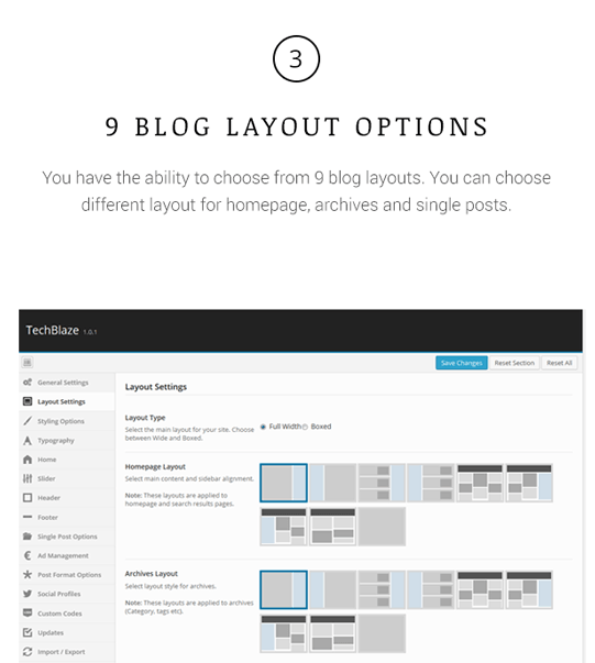 TechBlaze - Professional WordPress Blog Theme - 3
