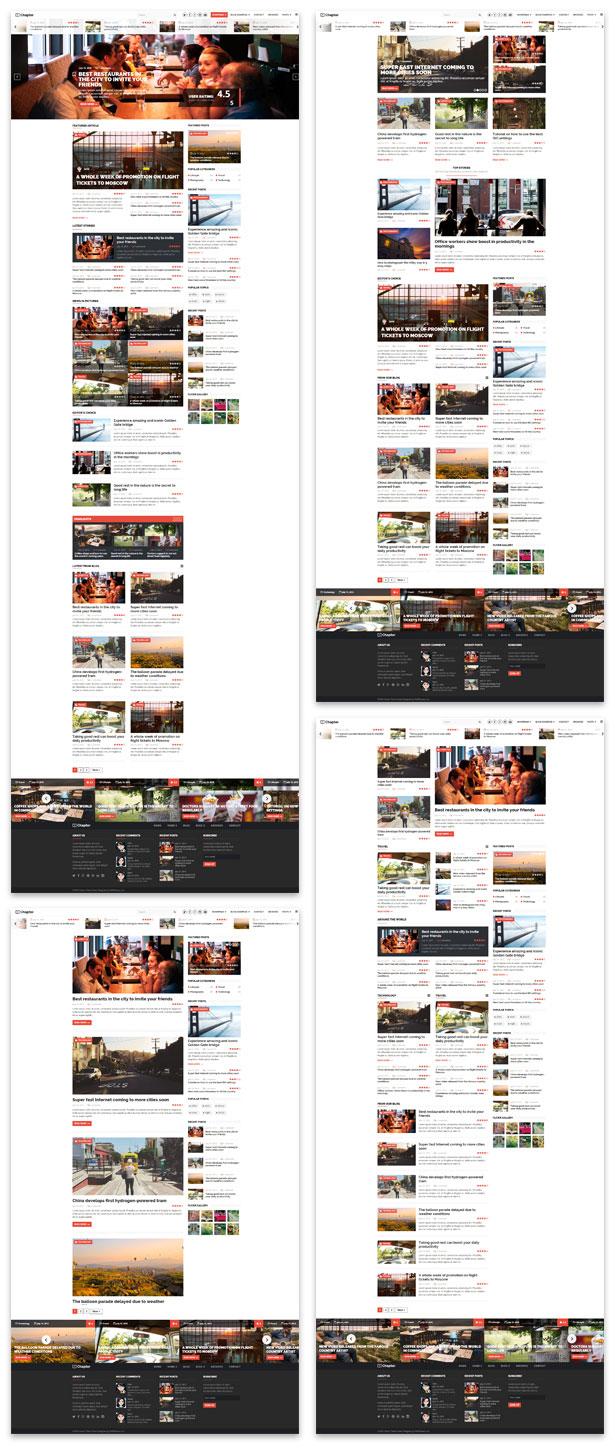 Chapter - WordPress Magazine Theme - 1