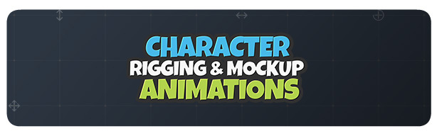 Character Rigging Mock Up Animations - 1