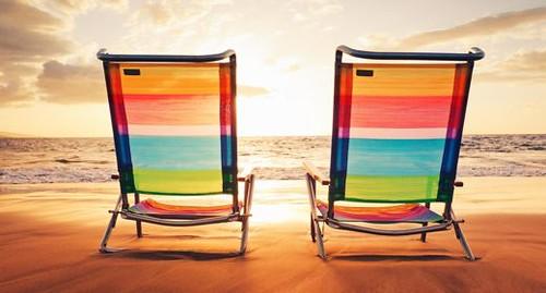Hawaiian Vacation Sunset Concept