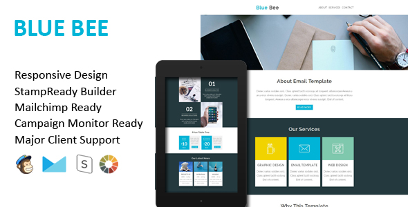 Holiday - Responsive Email Template With Stamp Ready Builder