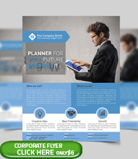 Corporate Business Flyer Template - 3