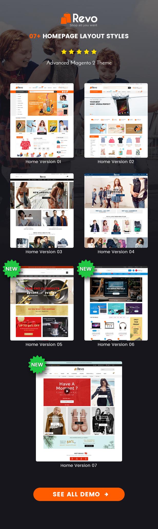 SM Revo - Homepage