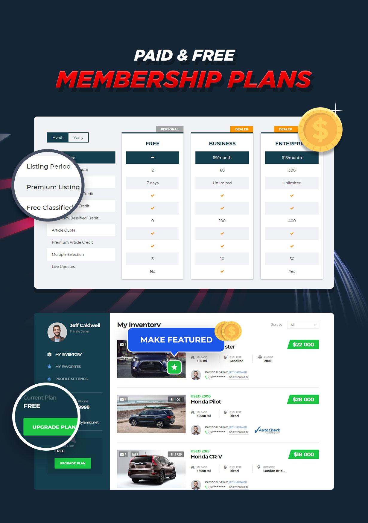 Motors - Car Dealer, Rental & Listing WordPress theme - 12