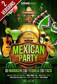 Mexican Party Flyer - 44