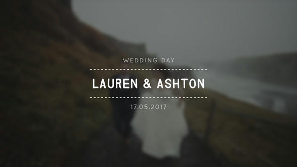 Wedding Titles - 14