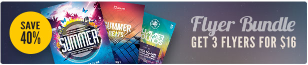 Summer Flyer Bundle Vol.04