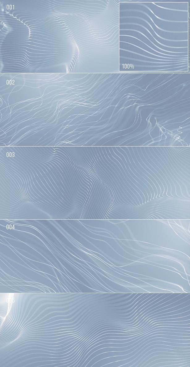 Waves Of Light Strings