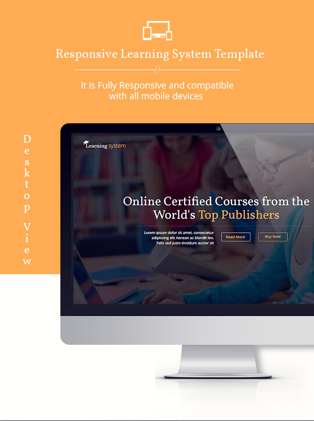 Learning System PSD Template - 8