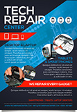 Tech Repair Center Flyer Template