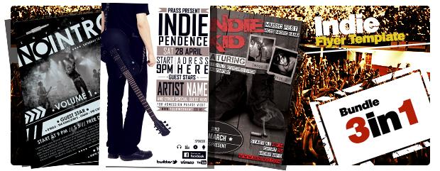 Music World Tour Flyer Template - 2