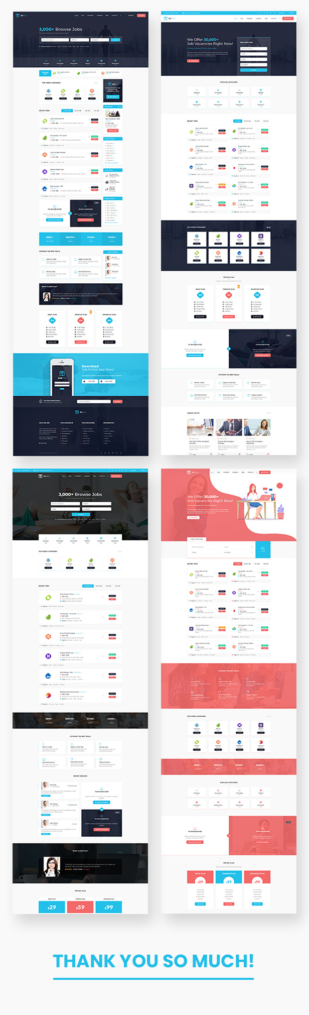 Entaro - Job Portal WordPress Theme - 1