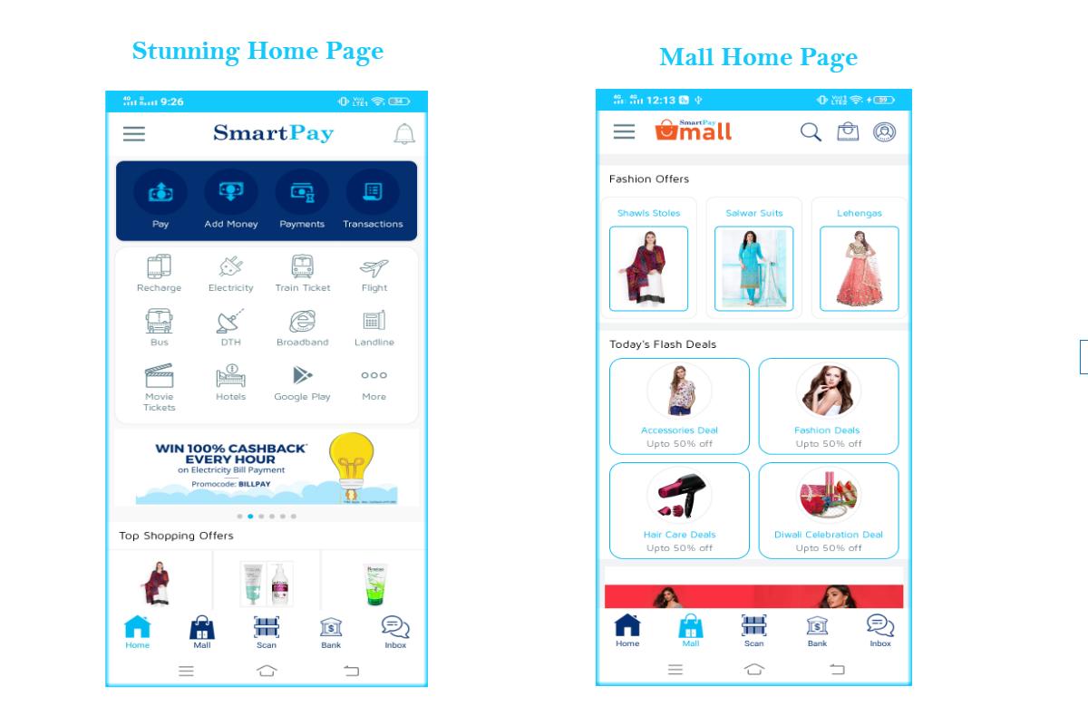 SmartPay Wallet v1.0 - Android XML Screens Layout