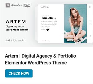Artem WordPress Theme