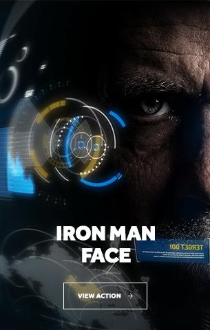 Iron Man Face Photoshop Action - 46