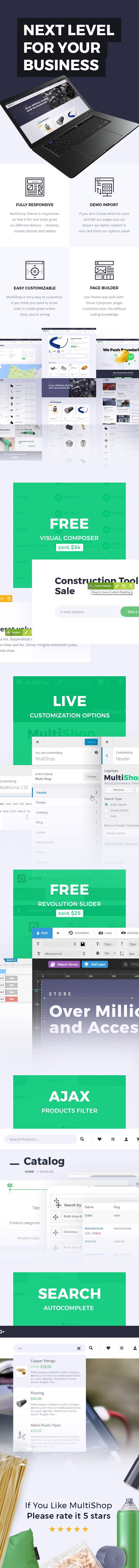 MultiShop WordPress Theme