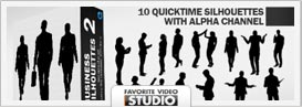 Active Life Rotating Silhouettes Pack - 17