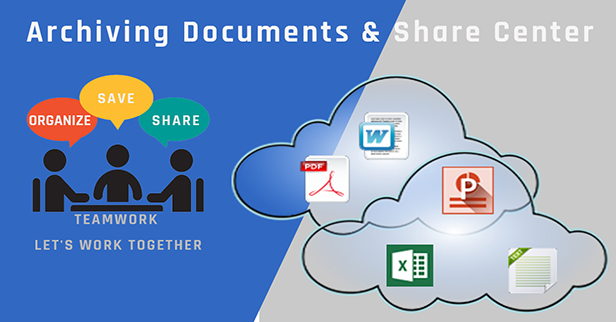Archive, organize, save