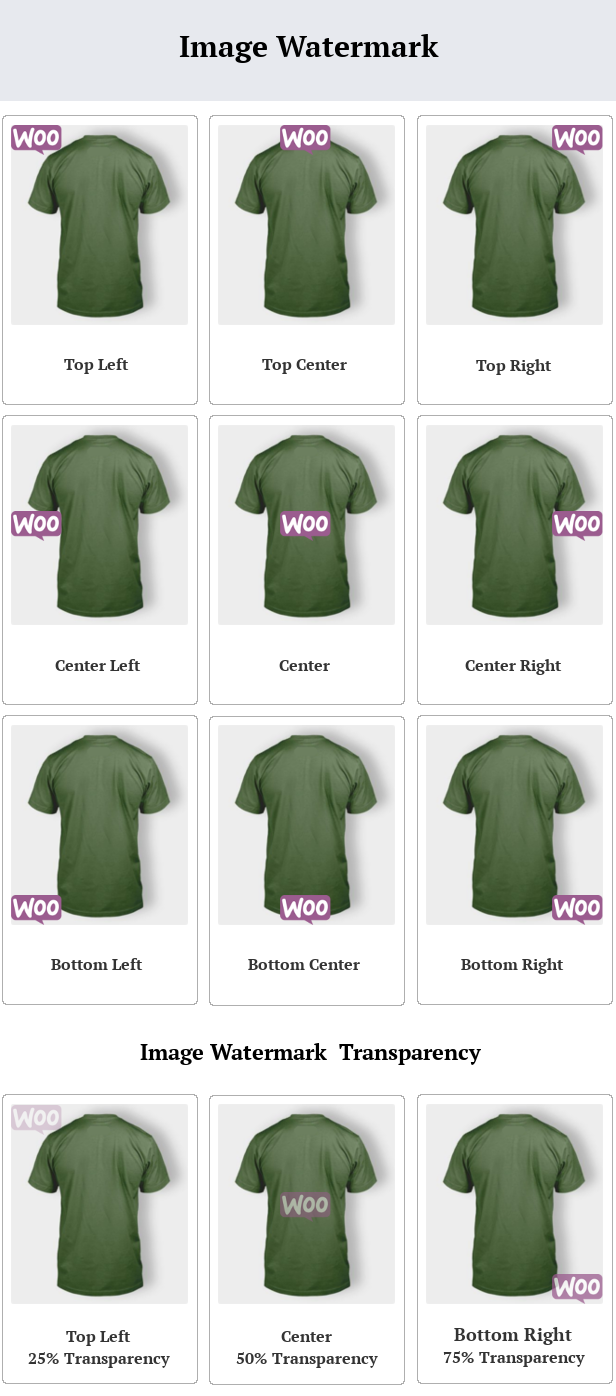 SUMO WooCommerce Product Image Watermark - 1