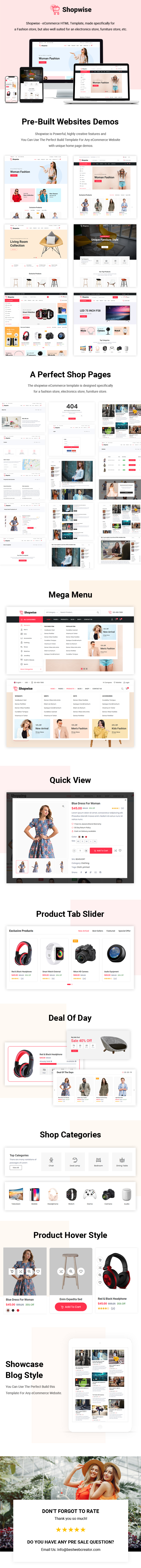 Shopwise-eCommerce-Bootstrap4-html5-template