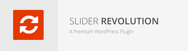 Slider Revolution - T.Joy WordPress Theme Responsive