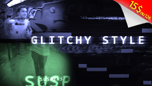 Trailer Opener Glitchy Style