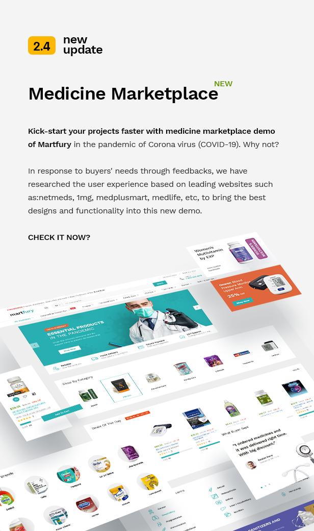 Martfury - WooCommerce Marketplace WordPress Theme - 5