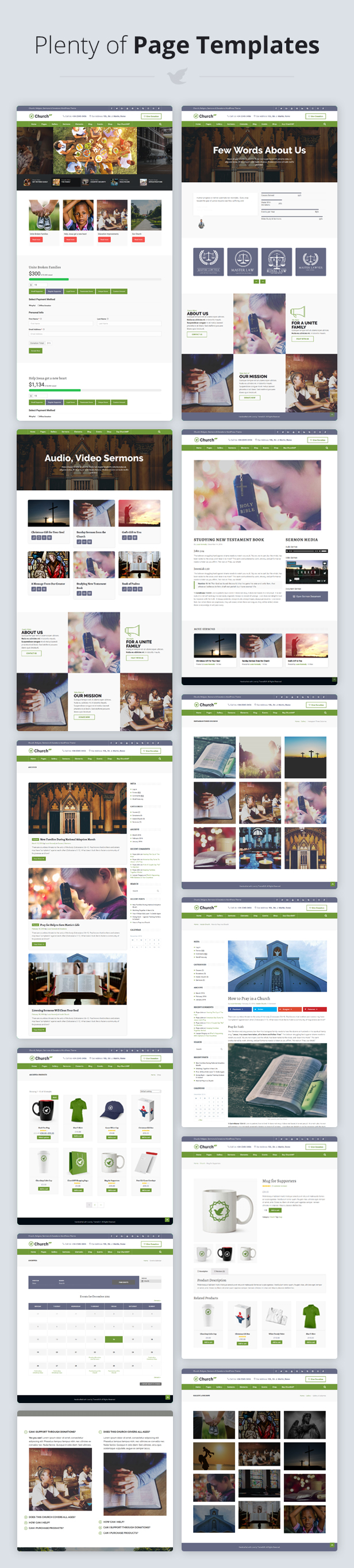 ChurchWP - A Contemporary WordPress Theme for Churches - 4