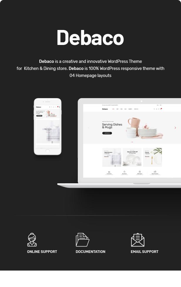 Debaco - Kitchen appliances for WooCommerce WordPress 22