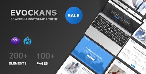 Evockans - Multi-Purpose Business Drupal 8 Theme