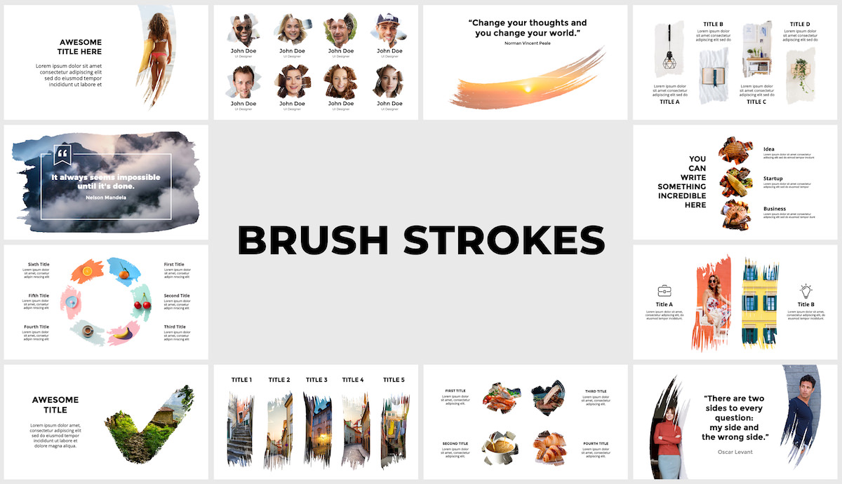 Huge Infographics Bundle! Lifetime Updates! PowerPoint, Photoshop, Illustrator. - 115