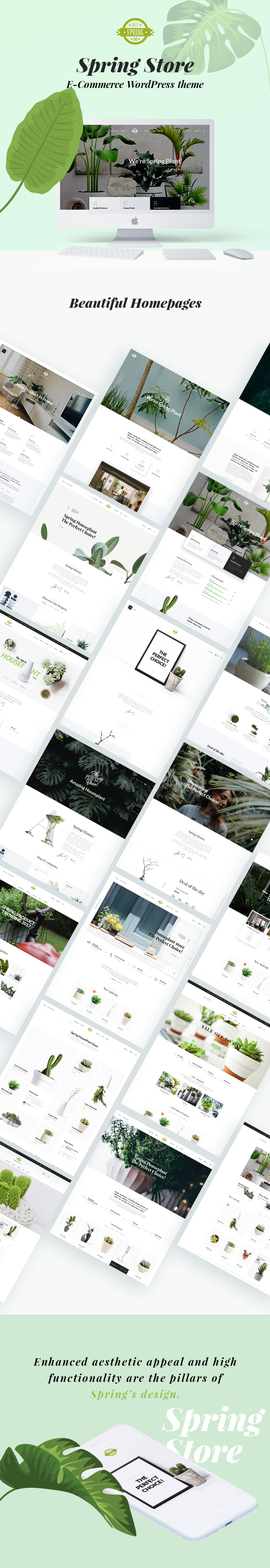 Spring Plants - Gardening & Houseplants WordPress Theme - 11