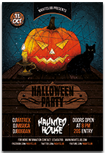 Halloween Party Flyer - 17