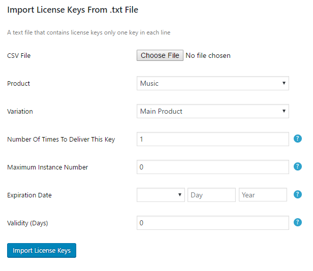 Woo License Manager v4.3.1许可证/授权管理器插件插图2