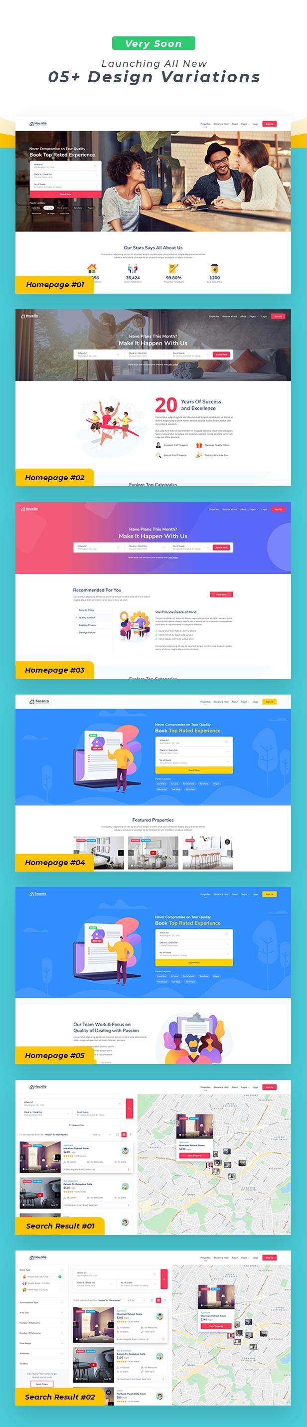 Houzillo - Bookings and Rental WordPress Theme - 3