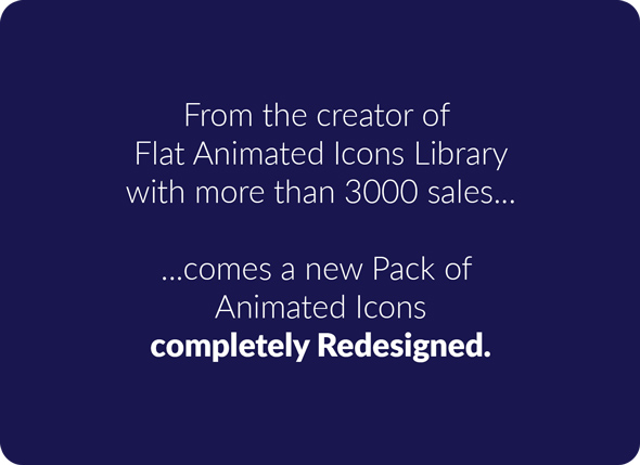 PremiumBuilder Animated Icons - 6