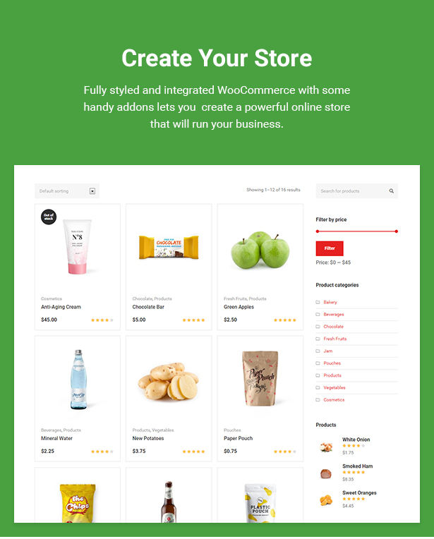 Food Market - Food Shop & Grocery Store WordPress Theme by cmsmasters