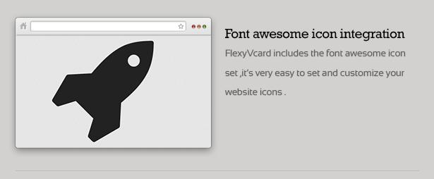 FlexyVcard - Responsive vCard Wordpress Theme - 21