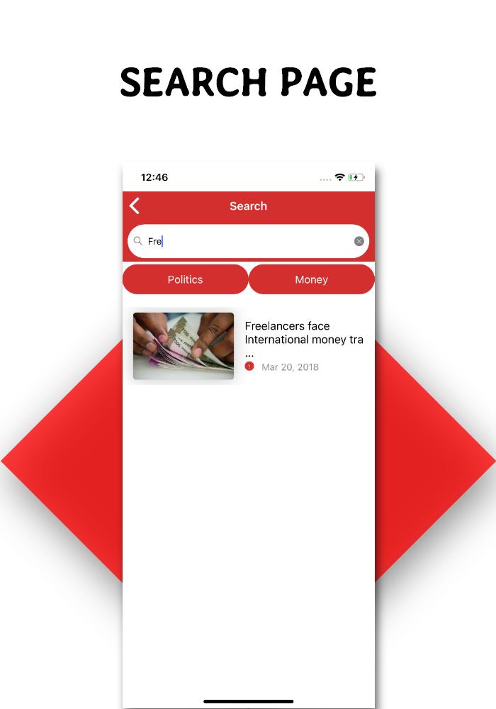 Full functional news app with admin panel Firebase Firestore & Ionic Framework - 10