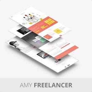 AMY Theme - Creative Multi-Purpose WordPress Theme - 8