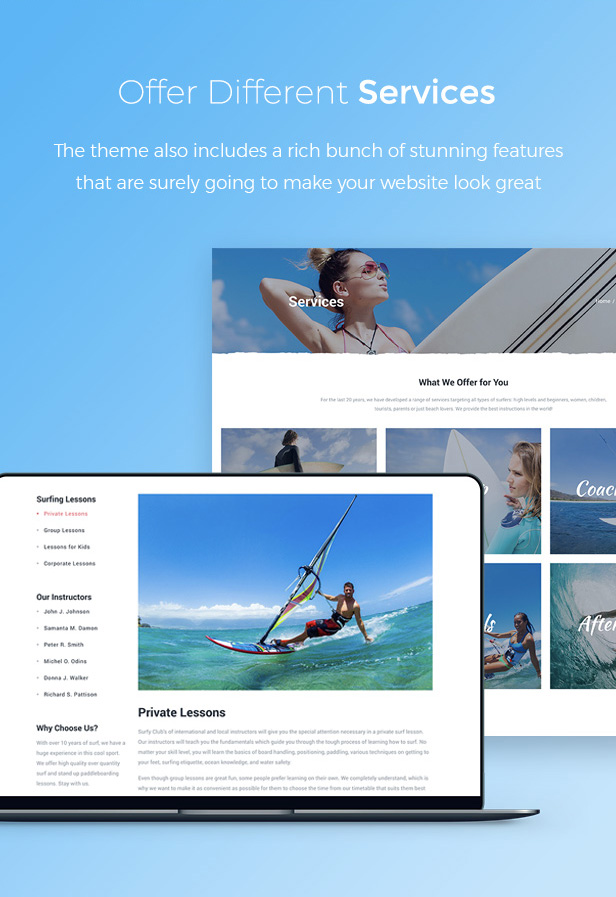 Surfy - Surfing and Water Sports - 3
